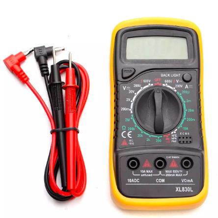 Voltmètre Pro mesure 600V/10mAH.